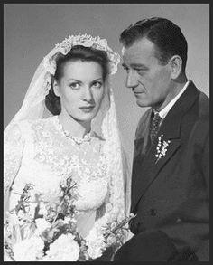 John Wayne and Maureen O'Hara such a great on screen couple (and real life pals)
