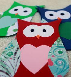 DIY Owl Card (with template)