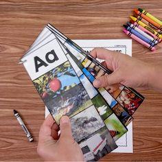 Teaching Letter Sounds, Teaching The Alphabet, Alphabet Activities, Teaching First Grade, First Grade Classroom, Teaching Kindergarten, Preschool Kindergarten, Alphabet Pictures, Alphabet Cards