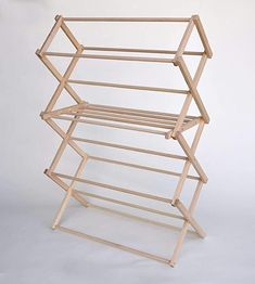 Wooden Clothes Drying Rack, Pipe Clothes Rack, Clothes Dryer Stand, Folding Clothes Rack, Drying Rack Laundry, Laundry Dryer, Laundry Storage, No Closet Solutions, Diy Pipe