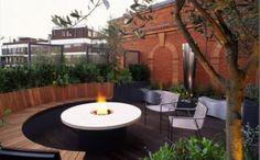 Modern Garden Design Ideas Fireplace