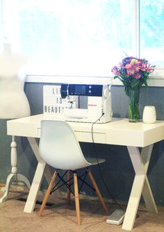 sewing room makeover