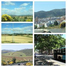Granada to Malaga. 2 hours by autobus.