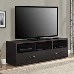 The Ameriwood Home Clark TV Stand for TVs up to 70