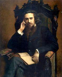 """Ivan Nikolayevich Kramskoi 1885 """"Solovyov Vladimir Sergeyevich"""""""