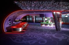 Glamour and Exclusive Cinemas Interior Design by Robert Majkut
