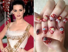 Nail Art -- Celebrity TwitPics   TooFab Photo Gallery#tab=featured