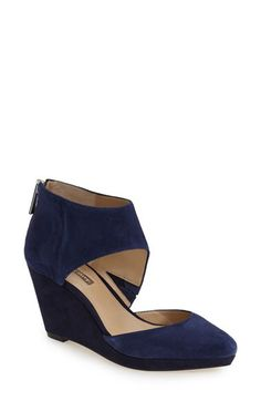 be76a99495abf0 BCBGeneration BCBGeneration  Millbrook  Wedge Pump (Women) available at   Nordstrom Blue Pumps