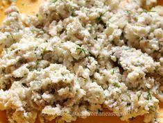 Ciuperci umplute cu branza Risotto, Grains, Rice, Ethnic Recipes, Food, Meal, Eten, Meals, Jim Rice