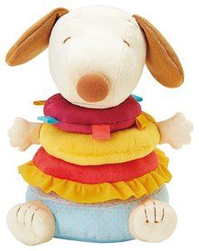 Peanuts Stacking Plush Snoopy. Available at OurPamperedHome.com