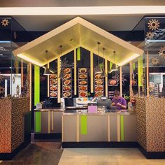 Ultra contemporary design for The Star food court. - @Patricia Gajo- #webstagram