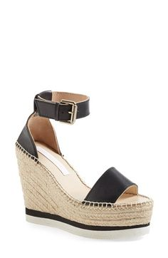 See by Chloé 'Glyn' Espadrille Wedge Sandal (Women) available at #Nordstrom