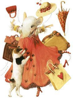 Marjolein Bastin Art Collection | character mouse, Vera. I'm a mouse addict and collect all sorts of art ...
