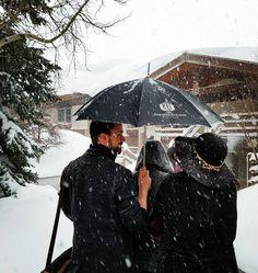 Fresh powder at Stein Eriksen Lodge. #steinstyle