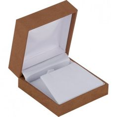 Tan Linden Collection Pendant or Earring Box-ST61-9454:100003:T