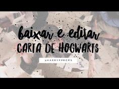 Como fazer: Carta de Hogwarts + Ticket Plataform 9 3/4 - Harry Potter Replicas