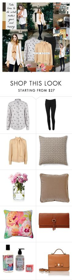"""""""Worry more about your character than your reputation."""" by leannesugarplum ❤ liked on Polyvore featuring La Isla, Poem, Vero Moda, The Velvet Chair Company and Carvela Kurt Geiger"""