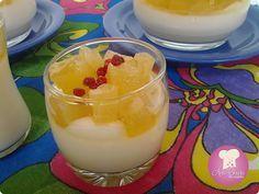 Brisando na Cozinha: Panna Cotta de coco com compota de abacaxi | Ciranda de Receitas