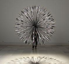morning star kinetic sculpture by karina smigla-bobinski