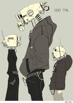 Forum Cyberpunk / Forum Cyberpunk - Images aléatoires CyberPunk et chat IRC - Galerie . - Forum Cyberpunk / Forum Cyberpunk – Images aléatoires CyberPunk et chat IRC – Galerie - Character Concept, Character Art, Concept Art, Animation, Images Aléatoires, Cyberpunk Kunst, Arte Robot, Bd Comics, Art Et Illustration