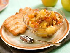 Ricetta Mele caramellate e albicocche secche