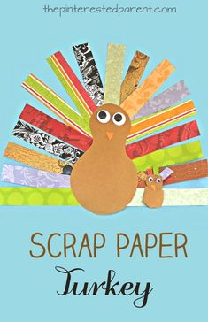 thanksgiving day craft to keep the kiddos entertained while the real