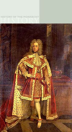 King George II by Sir Godfrey Kneller The Royal Collection @2006, Her Majesty Queen Elizabeth II