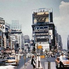 Vintage 1959 Times Square