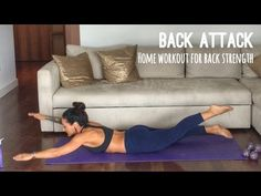 Back Attack: Home Workout for Your Back and Posterior Chain