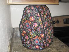 Kitchenaid cover for DD...created my own pattern
