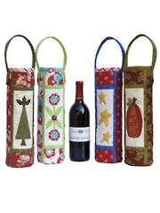 """Cheers!"" Wine Bag Sewing Pattern What a great project for the holidays to bring to the host of the party"