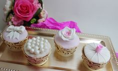 Wedding Cupcakes by Violeta Glace