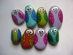 Pebble Painting, Dot Painting, Pebble Art, Stone Painting, Rock Painting Ideas Easy, Rock Painting Designs, Stone Crafts, Rock Crafts, Rock And Pebbles