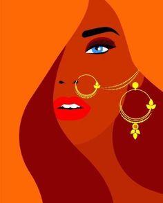 Pop art wallpaper illustrators backgrounds Ideas for 2019 Arte Peculiar, Kids Canvas Art, Mini Canvas, Indian Illustration, Pop Art Wallpaper, Indian Art Paintings, Face Paintings, Indian Folk Art, Creative Art