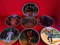 THE WIZARD OF OZ PLATE SET KNOWLES LOT DOROTHY TIN MAN SCARECROW COWARDLY LION | Collectibles, Decorative Collectibles, Decorative Collectible Brands | eBay!