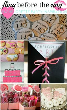 fling before the ring! bachelorette party ideas!