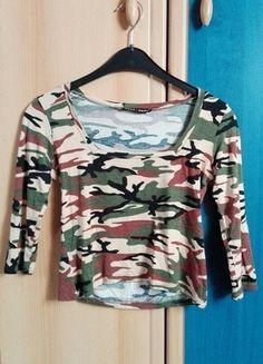 Kupuj mé předměty na #vinted http://www.vinted.cz/damske-obleceni/s-three-fourths-rukavem/11990391-maskacovy-top-s-trictvrtecnim-rukavem