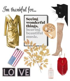 """""""Life"""" by ovk333 on Polyvore featuring Kendall + Kylie, Yves Saint Laurent, Givenchy, Casetify, Allurez, Herbivore and imthankfulfor"""