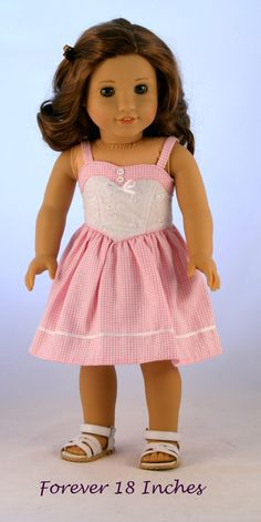18 Doll Clothes fits American Girl Dolls 1950s by Forever18Inches