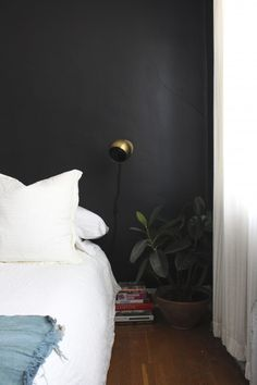 For Bold + simple elegance try Benjamin Moore's Universal Black