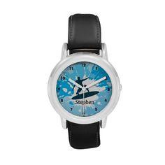 Customizable Surfing Design Watch