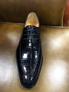 Alligator Skin Round-toe Lace-up Oxford Casual Dress Shoes Dress Shoes c0f276578471