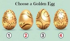 Pick the Golden Egg that You Prefer, Discover the Precious Message for You! 1 Know Your Future, Mind Power, Broken Relationships, Learn To Dance, Get What You Want, Psychology Facts, Stick It Out, Life Purpose, Numerology
