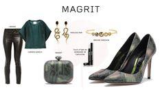 #Magrit Apuesta por el verde con nuestro modelo Mila pitón metalizado.  Diseñado para combinar con tus prendas favoritas. #Jbrand#Carmenmarch#Percossipapi#GermainedeCapuccini#BrookeGregson LINK WEB: http://www.magrit.es/metal-python