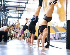 CrossFit Regional handstands