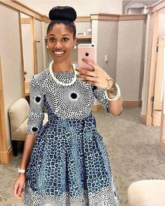 Ankara Xclusive: Most Popular African Clothing Styles 2018 African Print Dresses, African Print Fashion, Africa Fashion, African Fashion Dresses, African Dress, Fashion Outfits, African Outfits, Fashion Styles, Fashion Ideas