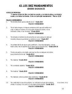Los 10 mandamientos Sunday School Classroom, Dear God, Truths, 10 Commandments Kids, Sunday School Lessons, Christian Kids, Bible Studies, Catechism, Crib