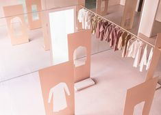 Brooklyn studio Snarkitecture transformed a former industrial space in LA into a pop-up store for fashion brand COS.