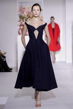 Classic Hollywood Glamour through Raf's eyes at F/W12 Jil Sander #fashion #mfw