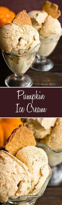 this ice cream is li this ice cream is like a cold creamy...  this ice cream is li this ice cream is like a cold creamy pumpkin pie always a hit at my house Recipe : http://ift.tt/1hGiZgA And @ItsNutella  http://ift.tt/2v8iUYW